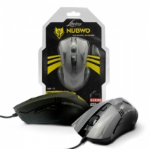 [1602]J - USB Optical Mouse NUBWO (NM-10) Black(#1Y)